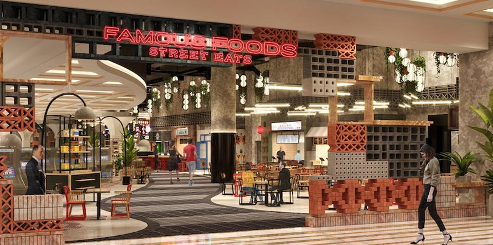 Resorts World Las Vegas Unveils Its Singapore Hawker-Style Food Hall