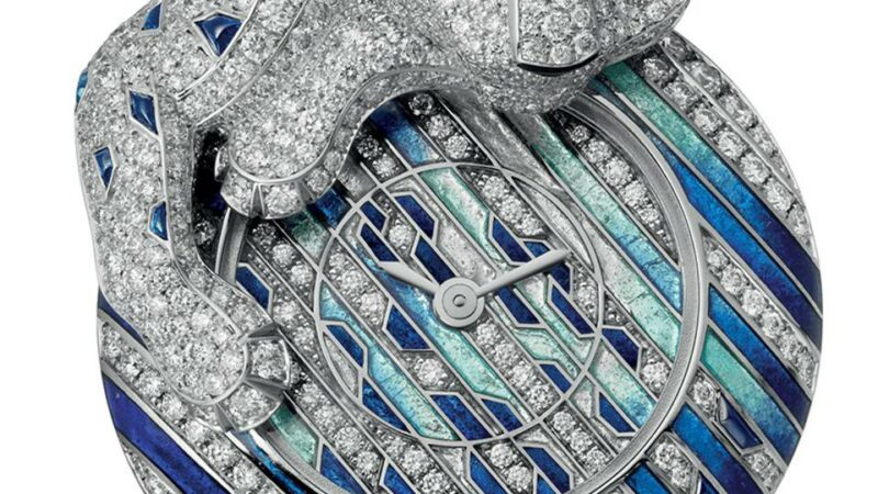 Panthers, Reptiles And Rosaries: Cartier Releases Its 2021 High Jewelry Watches