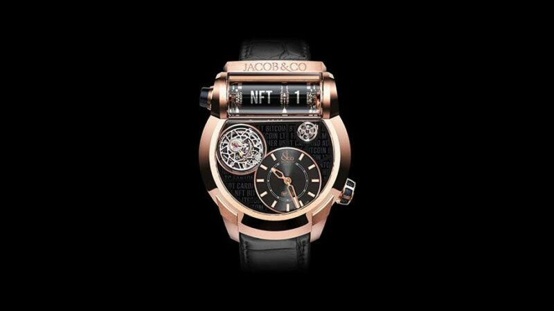 Jacob & Co. To Auction First Luxury Watch NFT In April